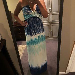 Cynthia Rowley maxi dress or beach cover up M